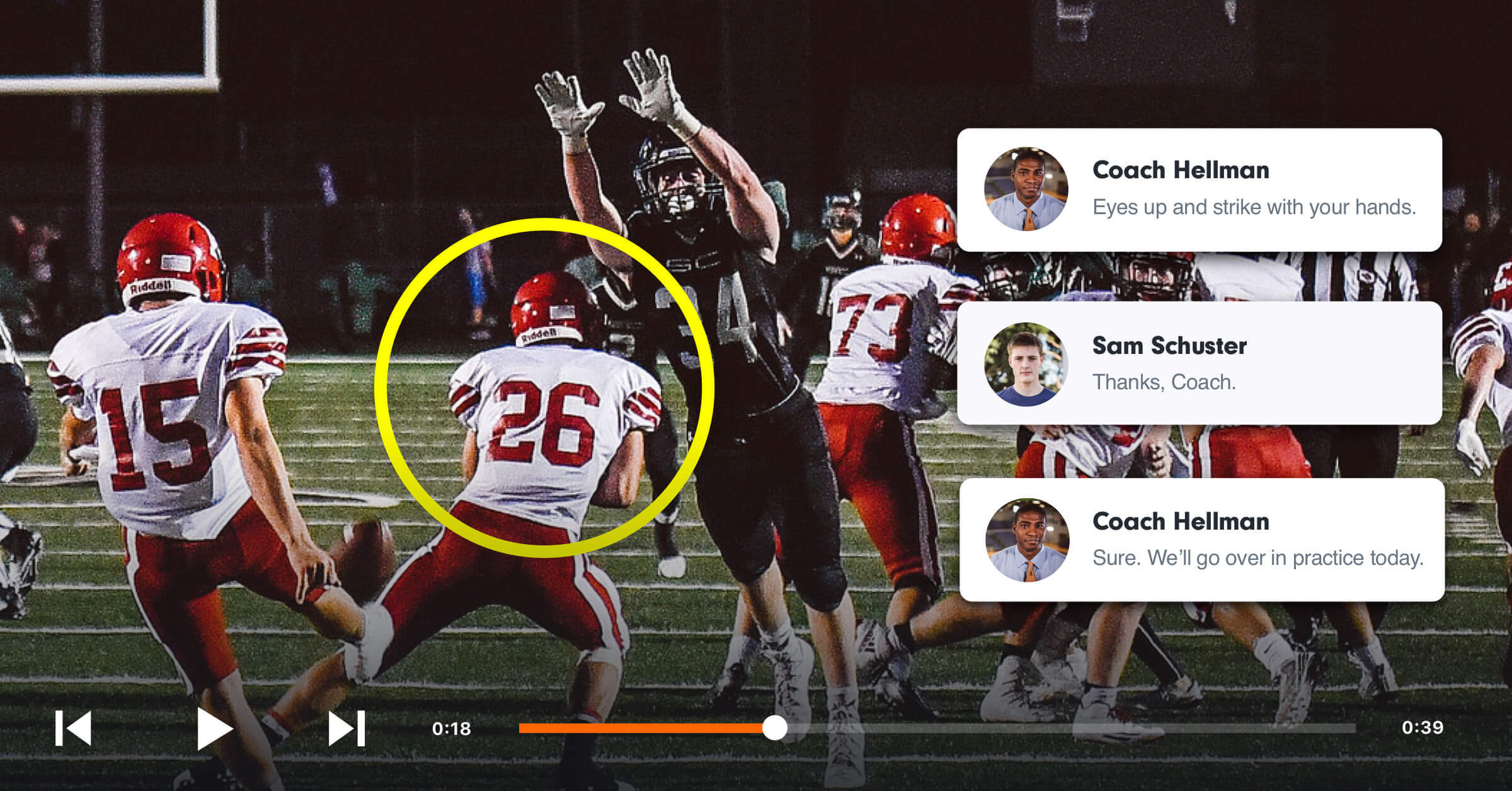 Video Editing and Analysis for American Football | Hudl