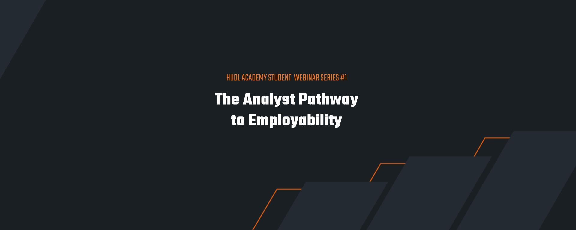 Hudl Academy Student Series: Part 1 - The Analyst Pathway to Employability