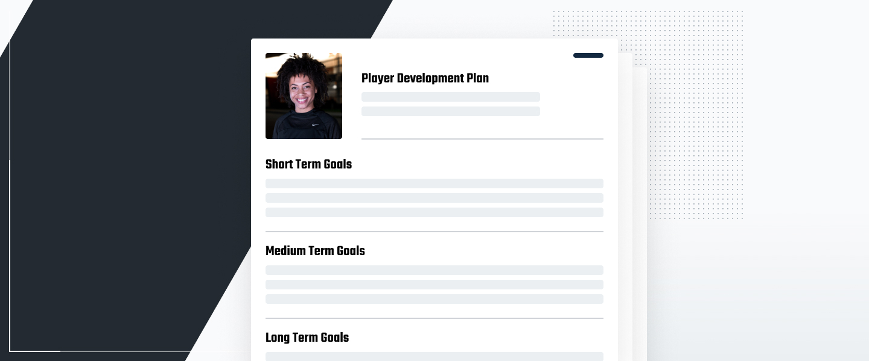 Screenshot of a development plan