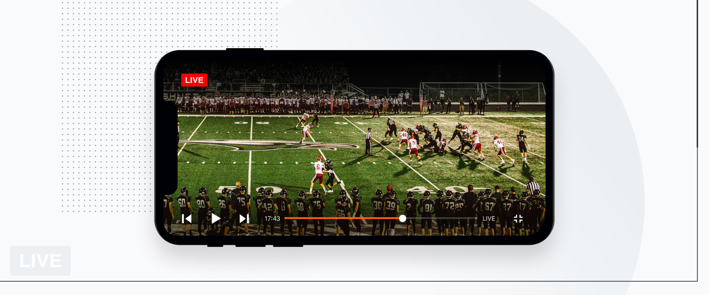 Livestreaming sporting events