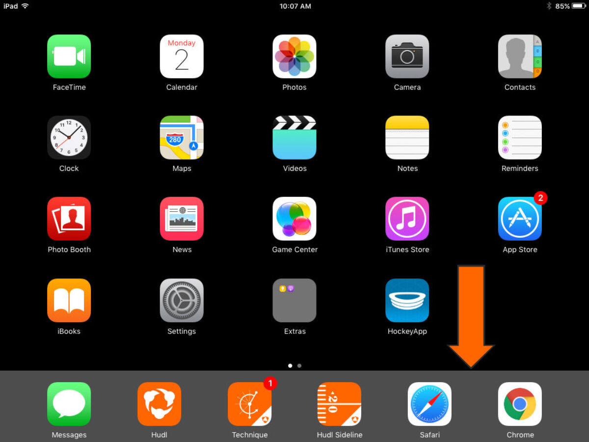 Upload Video from a Mobile Device Camera Roll | Hudl Support