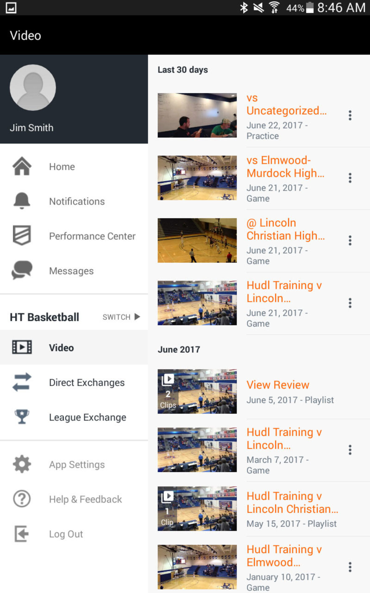 Find Your Video | Hudl Support