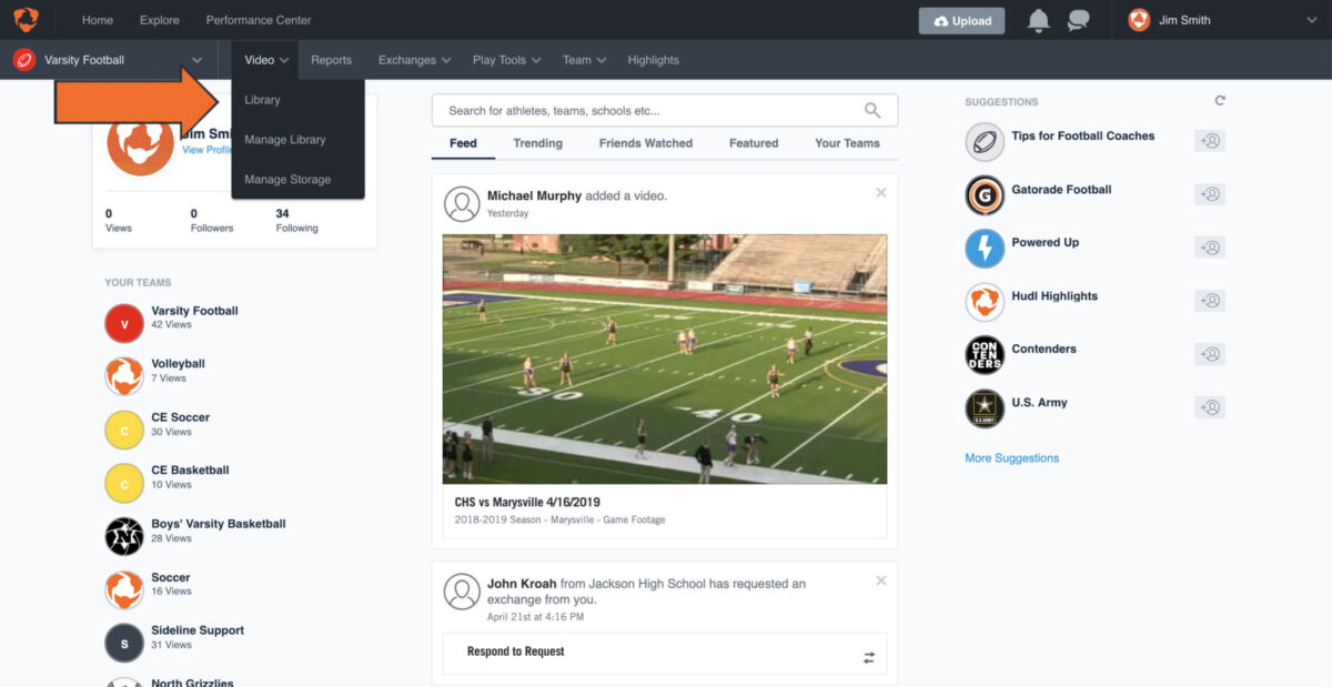 Use Filters to View Breakdown Data | Hudl Support