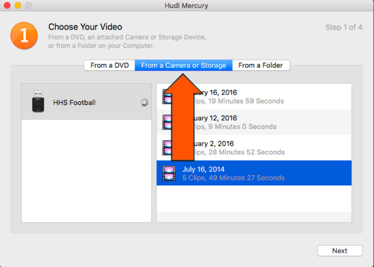 Upload Video with Hudl Mercury | Hudl Support